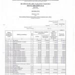 Biudzeto islaidu samatos vykdymo ataskaita (spec.lesos 001